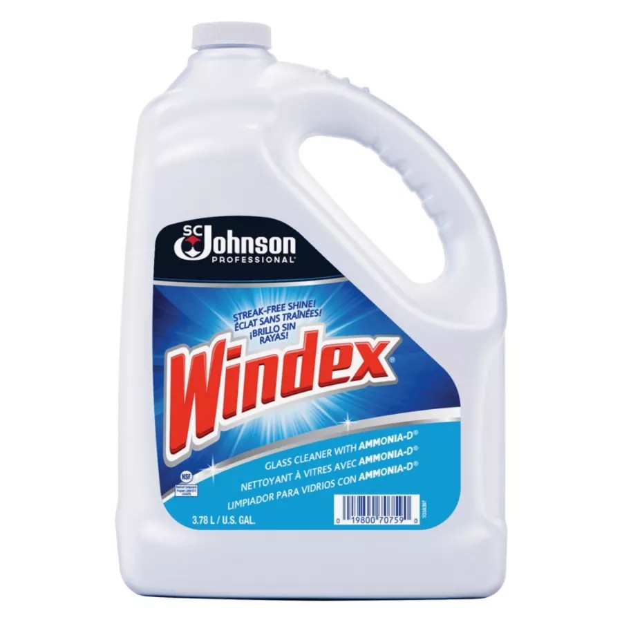 Windex Glass Cleaner With AMMONIA D 1 Gallon Refill