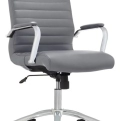 Leather Chair Modern Wheelchair Tennis Realspace Comfort Winsley Gray Office Depot
