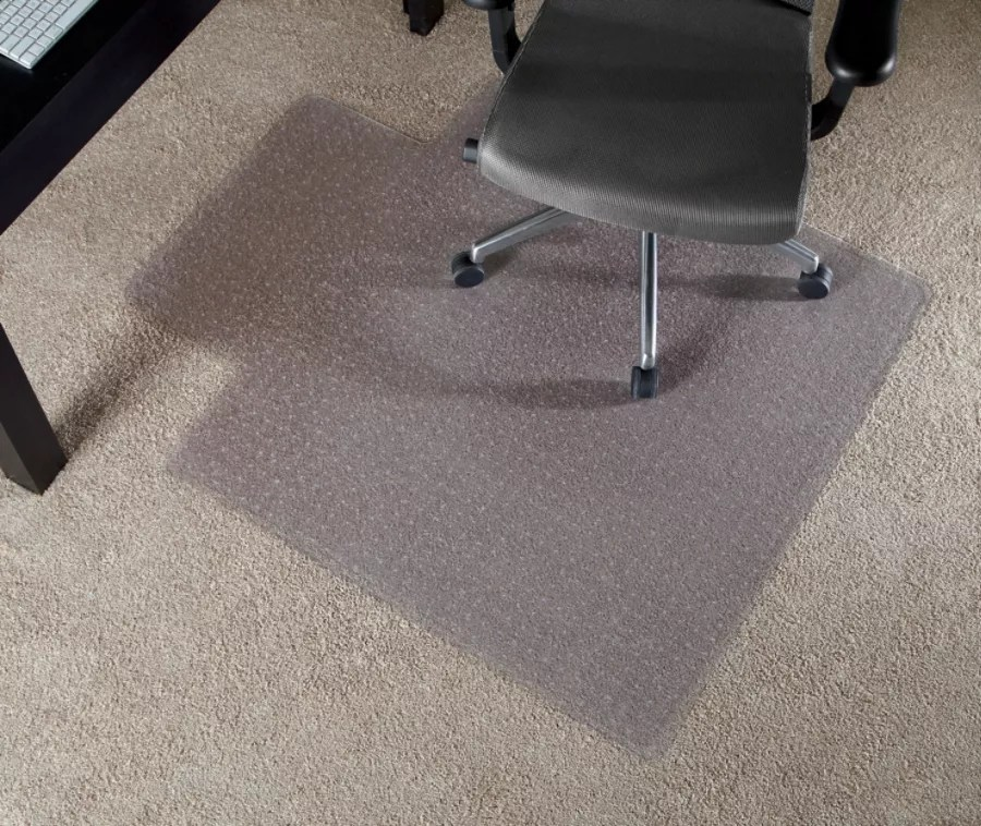 carpet chair mats extra large tub chairs at office depot officemax realspace economy mat for thin
