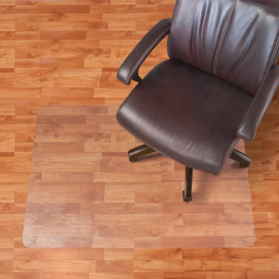 ergonomic chair mat sports with umbrella mats office depot realspace hard floor rectangular
