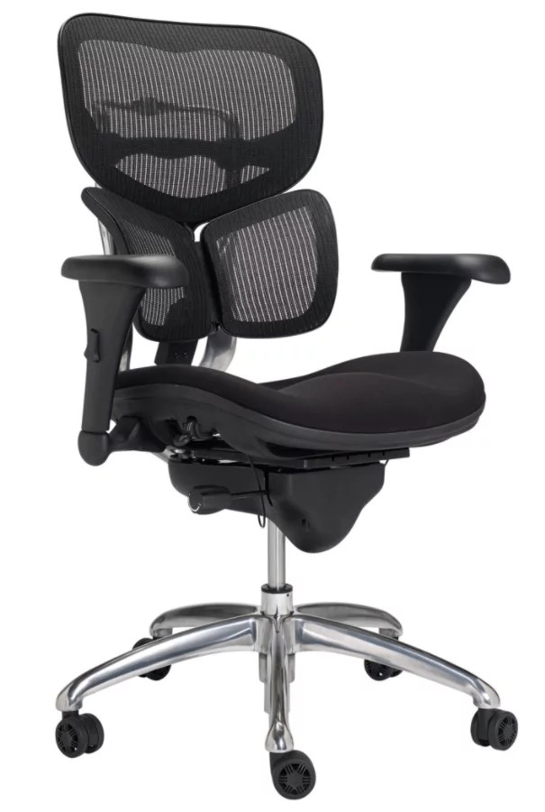 WorkPro Commercial Mesh Mid Back Chair Black  Office Depot