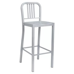Metal Bistro Chairs Spandex Folding Chair Covers Lorell Silver Set Of 2 By Office Depot Officemax