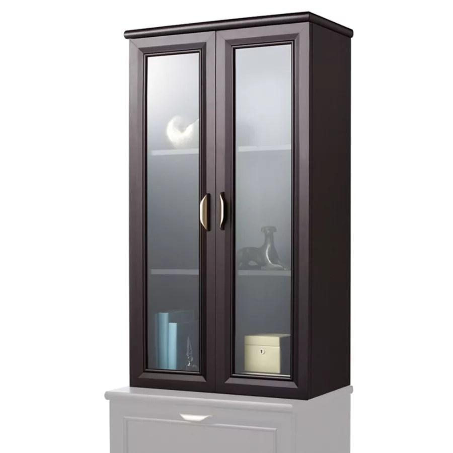 Realspace Magellan 2 Shelf Hutch For Lateral File Cabinet