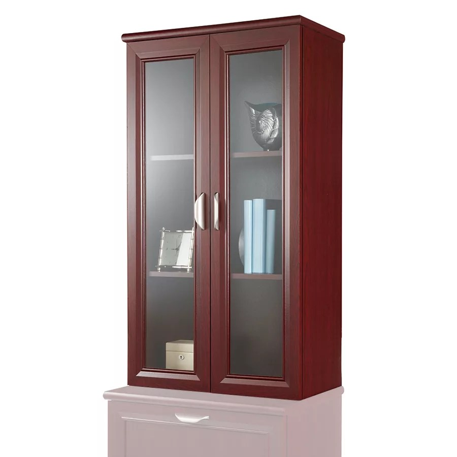 Realspace Magellan Collection 2 Shelf Hutch With Doors