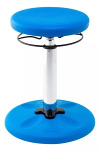 Kore Kids Adjustable Wobble Chair 15 12 to 21 12 H Blue by ...