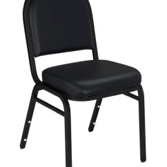 Public Seating Chairs Steel Chair In Kolkata National Dome Back Stacking Vinyl Panther Blackblack Set Of 2 By Office Depot Officemax