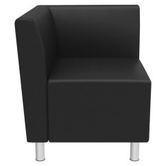 Corner Lounge Chair Upholster A Basyx By Hon Black Office Depot