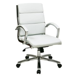 Office Star Chairs Outdoor Chair Cushion Covers Australia Worksmart Executive Faux Leather Mid Back