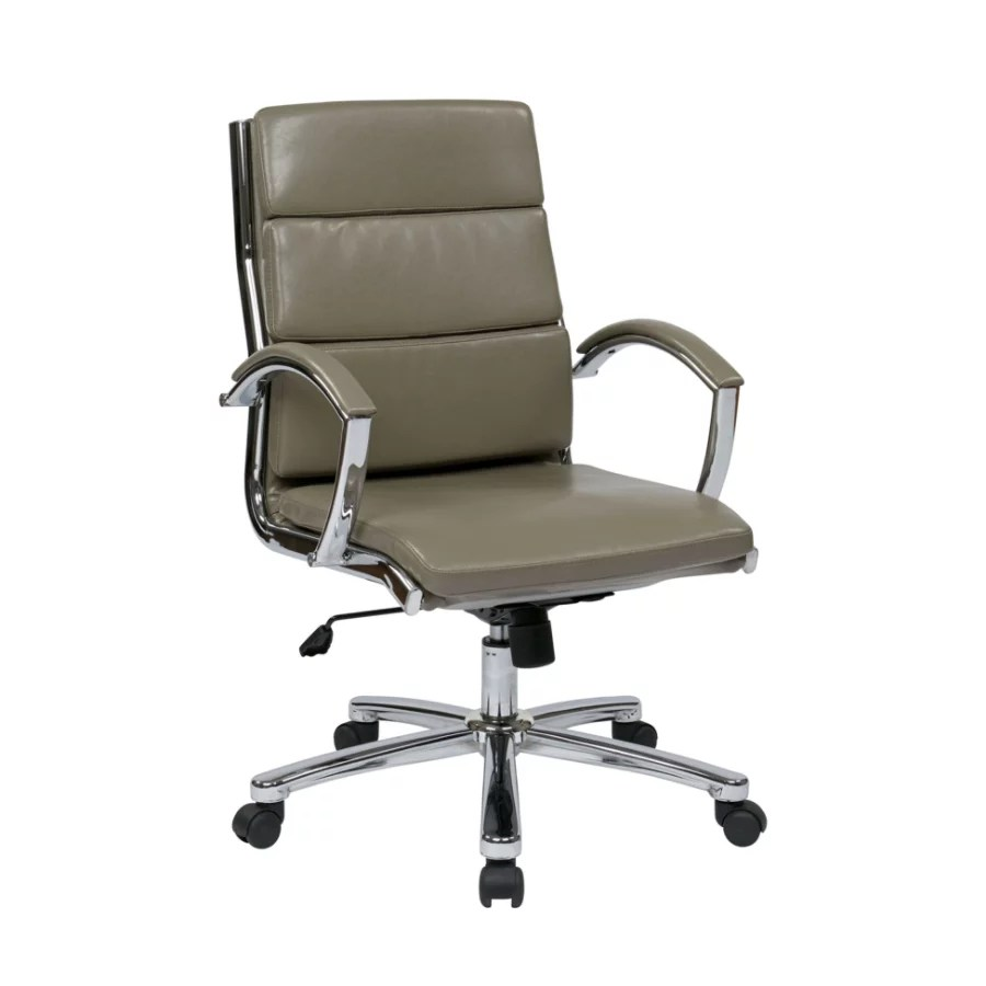 office star chairs replacement slings for patio cheap worksmart executive faux leather mid back chair