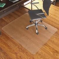 ES Robbins Hardwood Floor Chair Mat Rectangular 46 x 60 ...