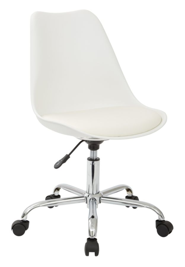 ave six chair ameriglide lift emerson mid back whitesilver by office depot officemax