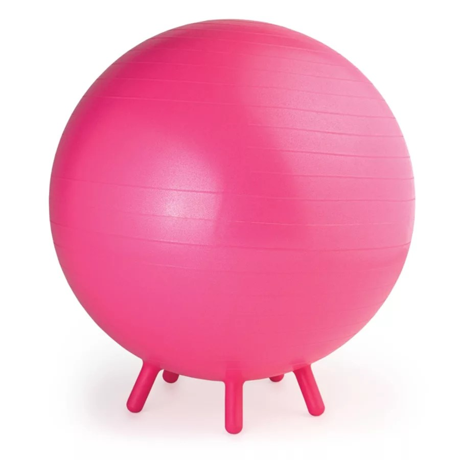 ball chair for kids staples osgood warranty gaiam balance pinkpurple by office depot officemax
