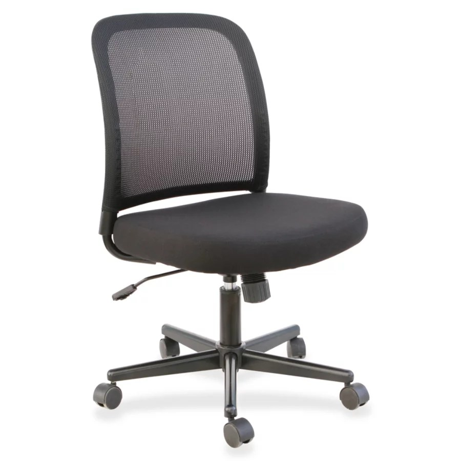 task chair without arms adult rocking browse chairs office depot officemax lorell mesh back armless meshfabric