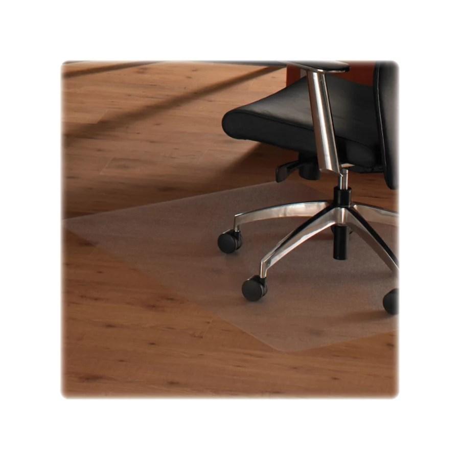office chair mat for hardwood floors green velvet floortex polycarbonate floor 48 x 79 clear depot