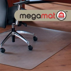 Office Max Hardwood Floor Chair Mat Covers Wedding Hull Cleartex Megamat Hard Floorall Pile Home Workstation Carpet 35 Length X 47 Width Rectangle Polycarbonate Clear By Depot