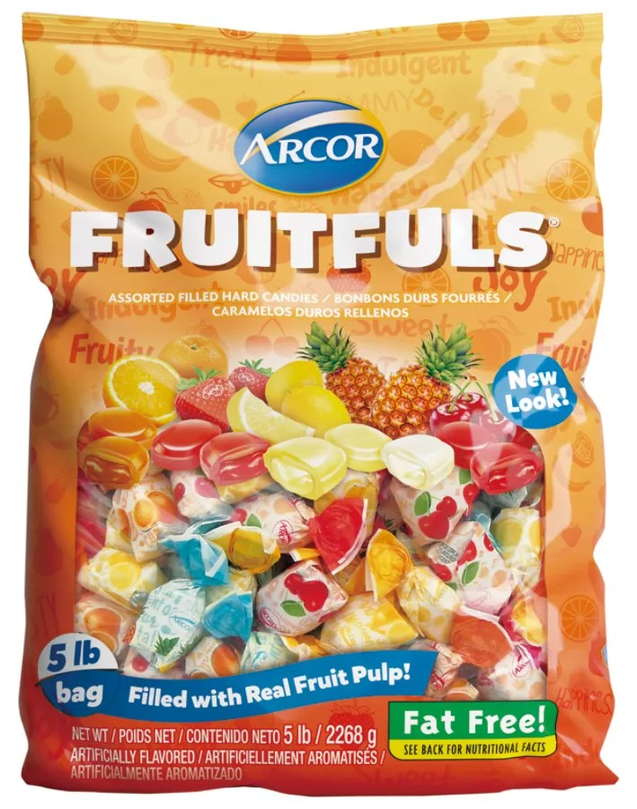 arcor assorted candies fruit