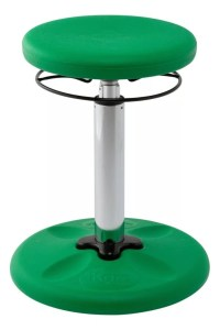 Kore Kids Adjustable Wobble Chair 15 12 to 21 12 H Green ...