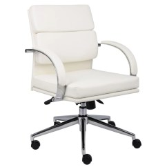 Bassett Ellis Executive Chair Repair Lawn Chairs Browse White Office Depot Officemax Boss Caressoft Plus Mid Back