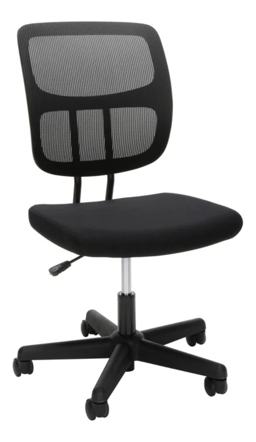mesh task chair best outdoor folding ofm essentials collection armless black by office mouse over to zoom
