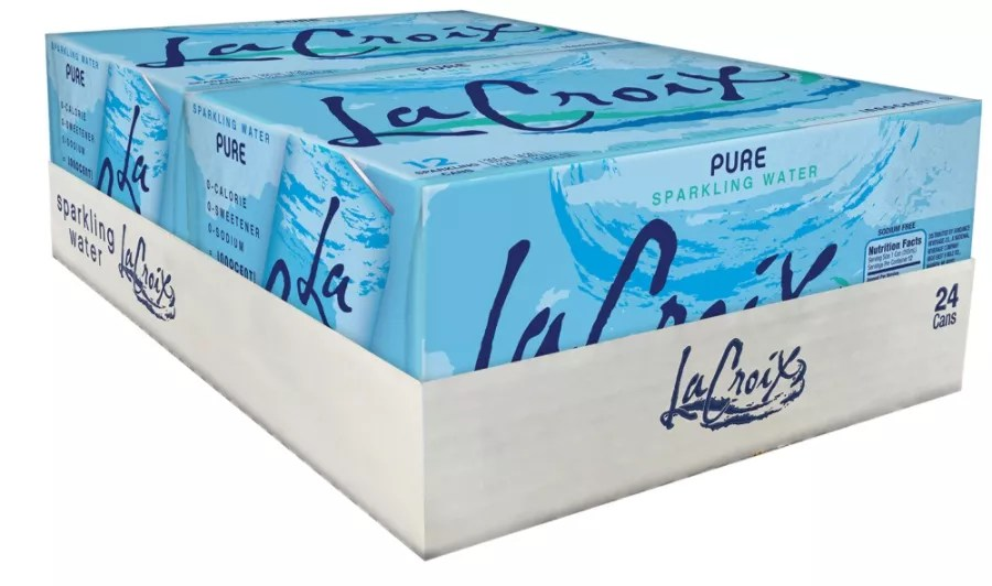 LaCroix Sparkling Water Pure 12 Oz Case Of 24 by Office
