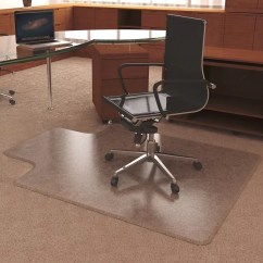 Officemax Chair Mat Inexpensive Covers For Weddings Deflect O Ultramat High Pile Carpets 45 W X 53 D Clear By Office Depot
