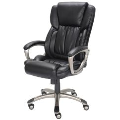 True Innovations Office Chair Baby Throne Depot High Back Bonded Leather 44 1 2 H X
