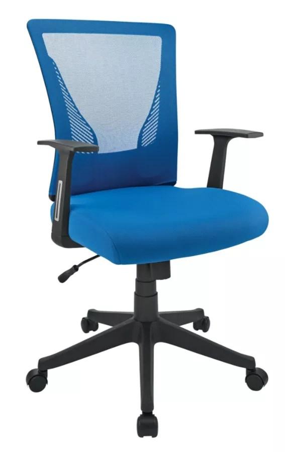 brenton studio task chair folding with cup holder radley mesh low back blueblack office depot blue black