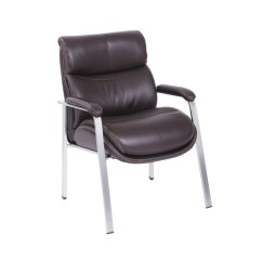Brown Office Guest Chairs Gym Chair.com Side At Depot Officemax Serta Icomfort I5000 Series Chair