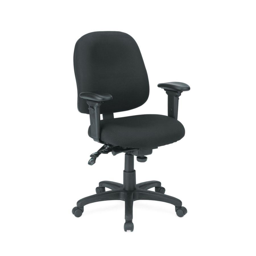 office chair under 3000 big joe lumin multiple colors depot workpro series ergonomic custom fit fabric mid back black