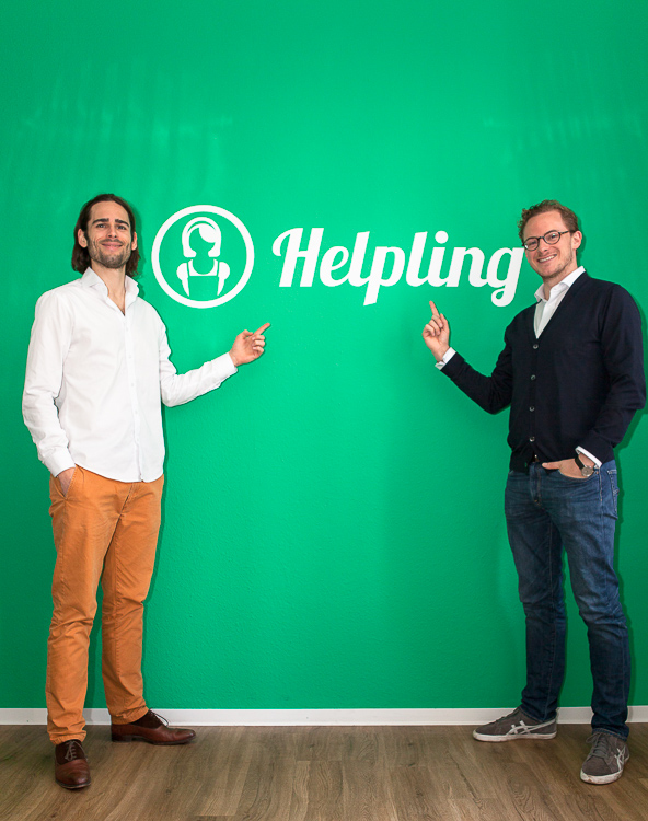 Officedropin helpling Andreas Lukoschek andreasL.de 3 Have Glance Inside of Helplings Berlin Office