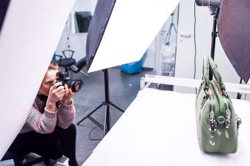 Photographer and Bags