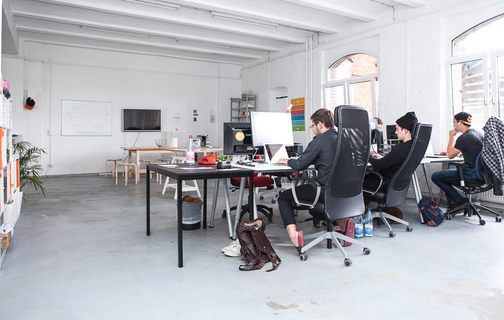 jodel 10 1024x650 Peek Inside Jodels Office in Berlin