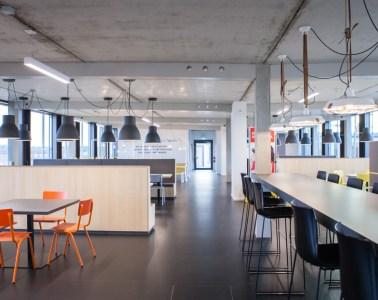 Zalando, Lounge, office