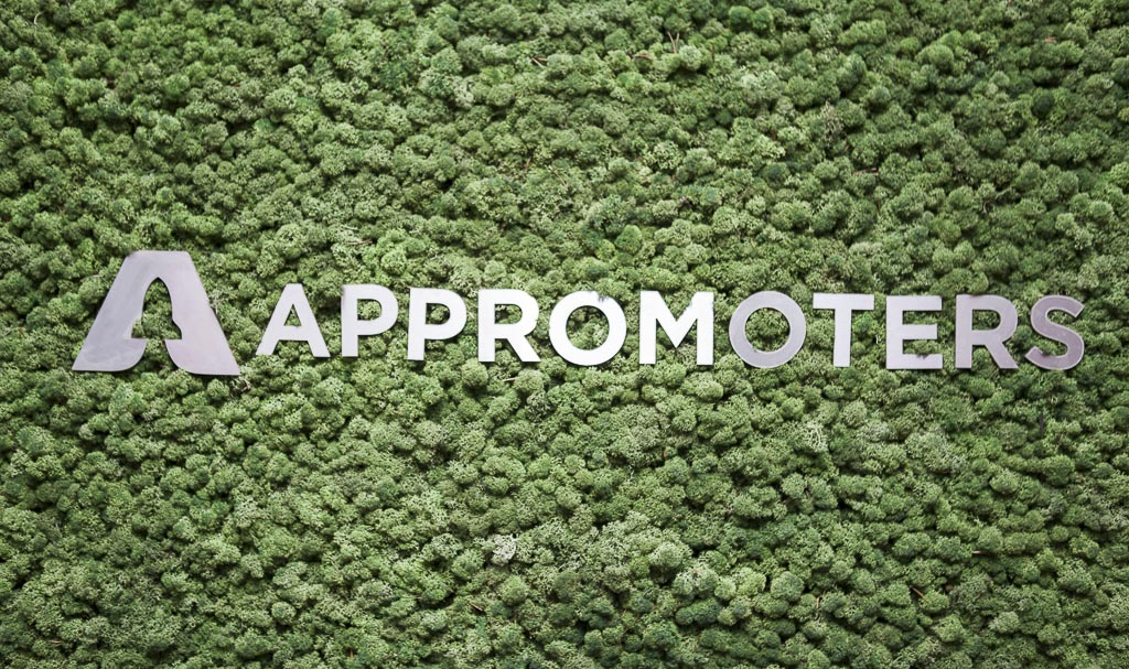 Appromoters Adnovation Officedropin 9913 HAVE A LOOK AT APPROMOTERS OFFICE IN AMSTERDAM