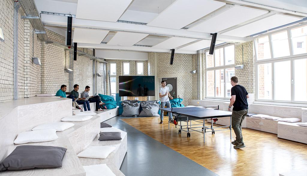 Adjust Office Drop IN officedropin 5605 A TOUR OF ADJUSTS OFFICE IN BERLIN