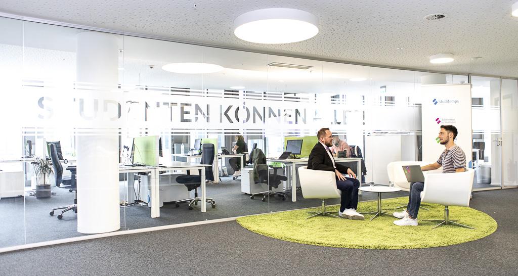 Studitemps Jobmensa Koeln Office Drop IN officedropin 6232 A TOUR OF STUDITEMPS HQ IN COLOGNE