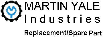 Martin Yale Replacement Part MRO720085 Feed Tire Assy for