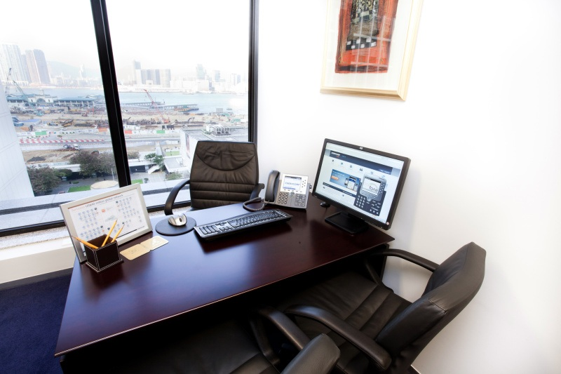 office chair hong kong west elm chairs uk shared business centre in club building furniture room of center single workstation broadband network provided
