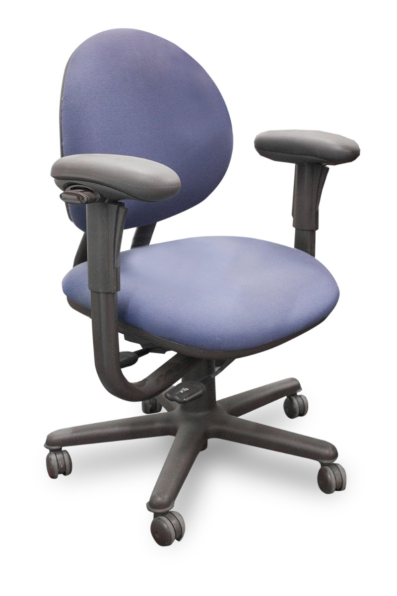 Steelcase Criterion Chair Steelcase Criterion Mid Back Task Blue Blue Violet