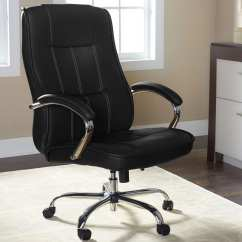 Big And Tall Desk Chairs Leather Arm Comfortable Office For Furniture