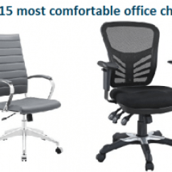 Most Comfortable Desk Chairs White And Chair Set Uk Top 15 Office In 2018