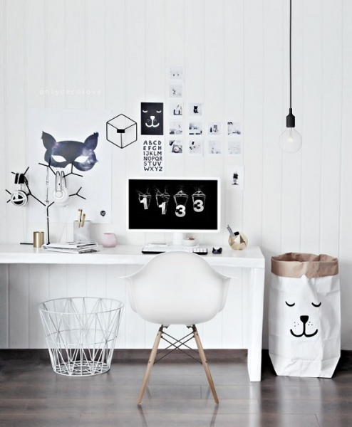 modern white desk chair evenflo high 4 in 1 decorating ideas at work using office chairs bucketwhite rollers