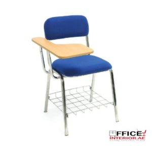 Chrome Fixed School Chair