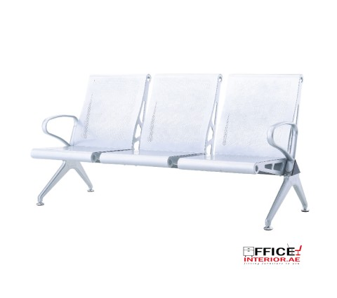 High Back 3 Seater Waiting Room Chair