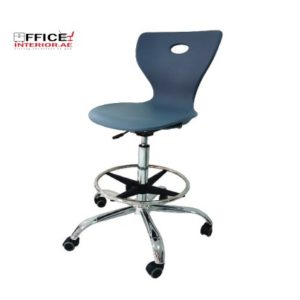 Secretary Chair With Chrome Base