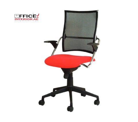 Secretary Chair with Upholstered Seat