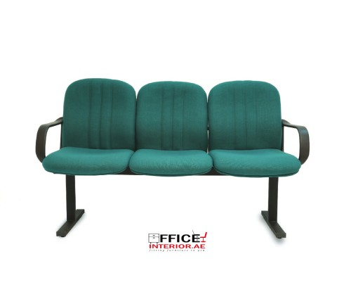 Sun Three Seater Waiting Room Chair