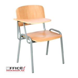 Wooden Seat & Back School Chair