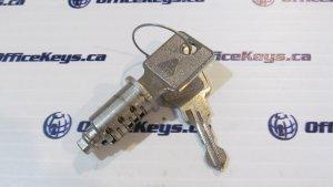 Huwil Lock Double Sided Lock Core