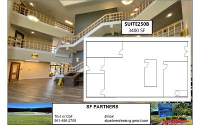 3400 SF Suite 205B Professional Office Space Available in Louisville, KY